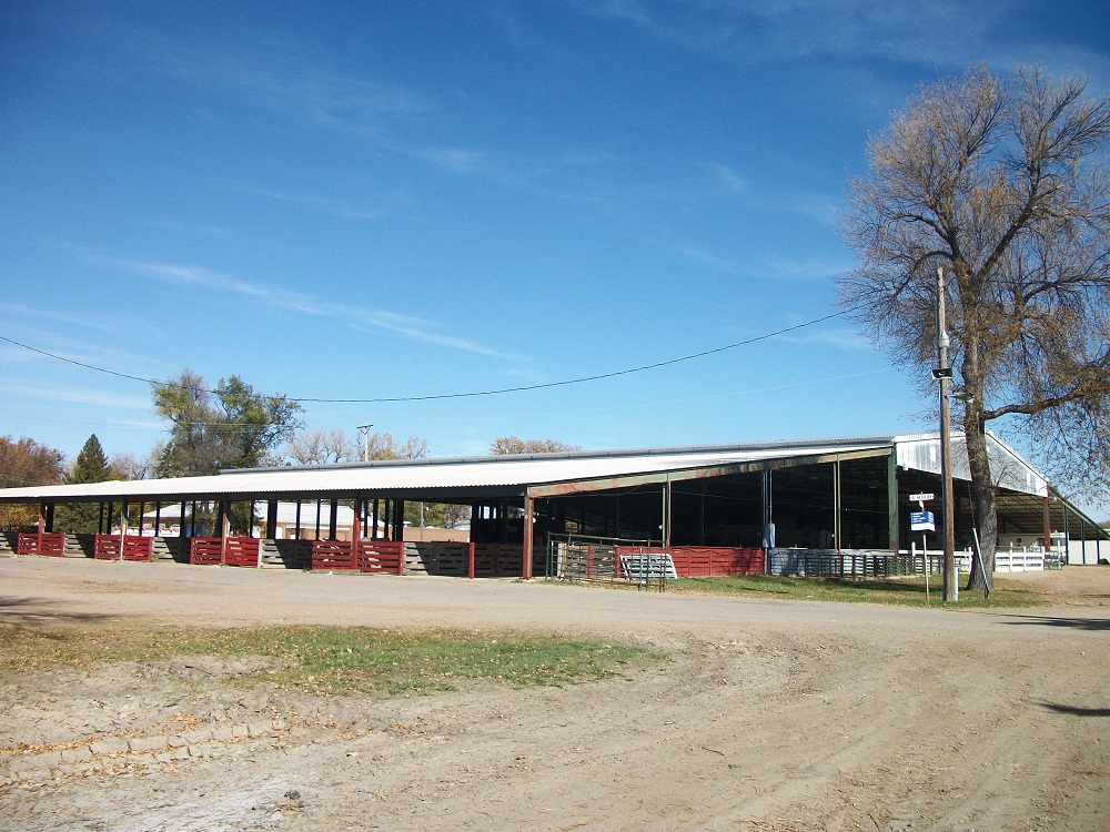 Exterior photo of the 4-H Complex.
