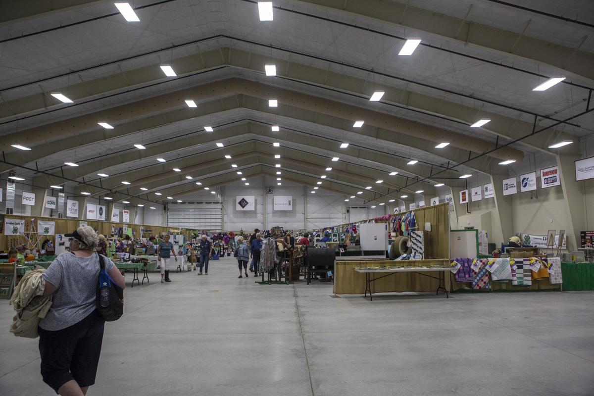 Nordby Exhibit Hall Interior South Dakota State Fair