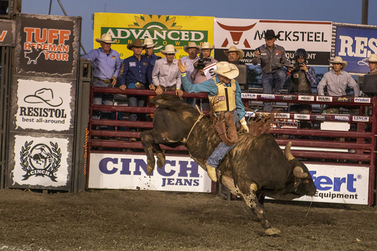 Red Wilk Construction Tuff Hedeman Bull Bash