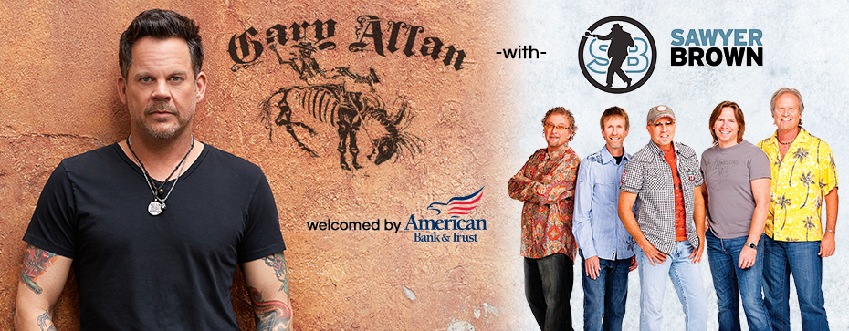 Gary Allan with Sawyer Brown