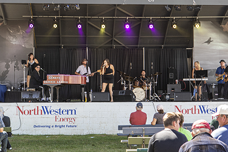 Entertainment on NorthWestern Energy Freedom Stage